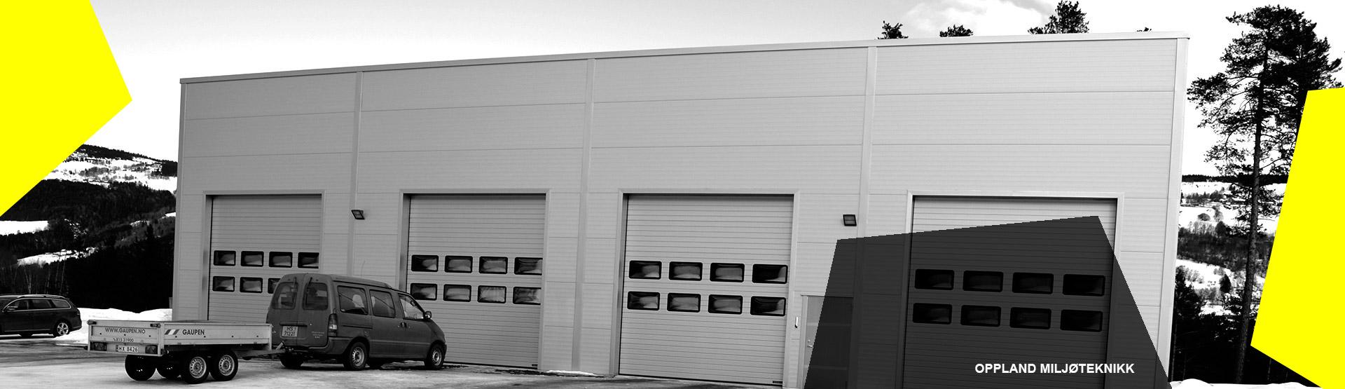 oppland miljøteknikk lager garasje
